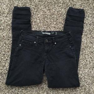 Black / Dark Charcoal skinny jeans